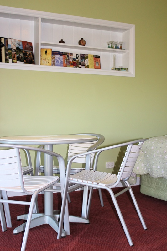 Self-Contained 2 Table and chair setting